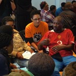 Group Discussion during the Community Care Workers Public Meeting 25 May 2013 Cape Town
