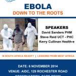 Ebola Meeting Poster