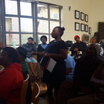 Akhona Nongqayi; A community health care worker based in Delft raising her concerns on the NHI