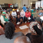 Breakaway groups during the a public meeting in Khayelitsha on the NHI White Paper