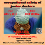 Public Meeting Doctors Speak Out- Rights and occupational safety of junior doctors