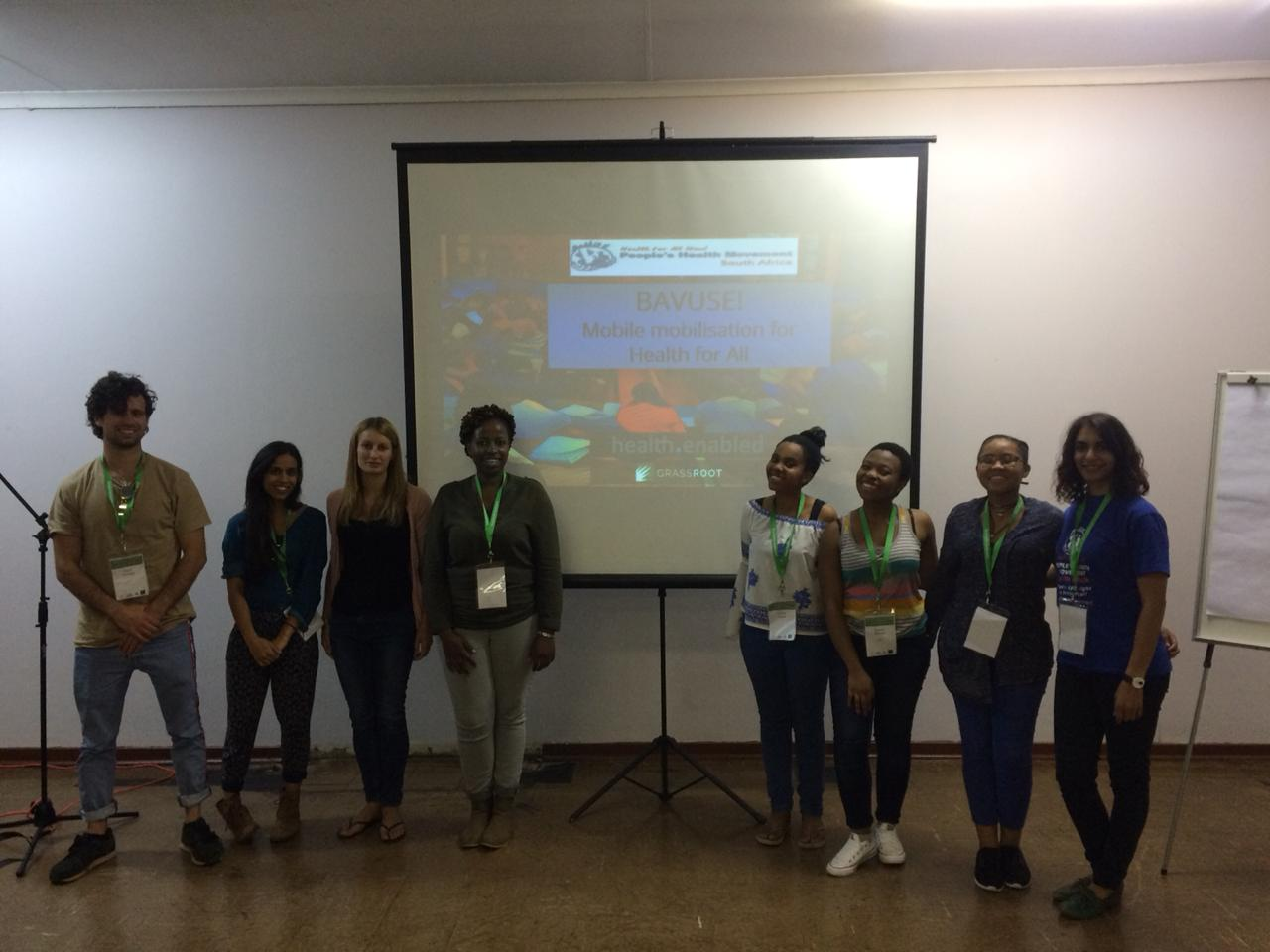 Mobile Mobilisation For A Peoples NHI Workshop Hosted By PHM SA 21 Sept 2018 Rural Health Conference